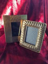 FLAWLESS Unique Exceptional PAIR Of Gold Picture FRAMES