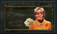 Briefmarke St. Vincent & Grenadines Princess Diana 1961 - 1997 22 K BR209