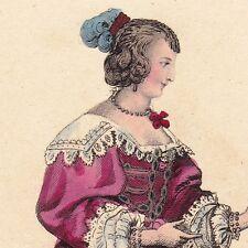 Portrait Louise Motier de La Fayette Vésigneux Soeur Angélique Louis XIII