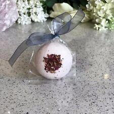 Bath Bomb With Rose Quartz Centre