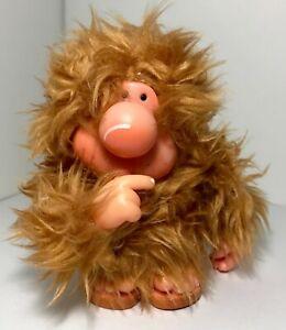 Zazzu and Friends Applause Vintage 1981 Plush Thumb Sucking Sasquatch Bigfoot