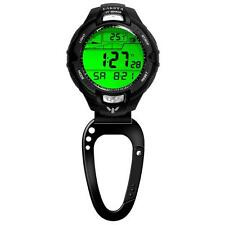 Dakota Watch Co. UV/Temp Sensor Clip, Black Bezel, Carabineer Clip 7544-8 NEW