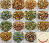 Gold Plated 50/100Pcs Wave Czech Crystal Crafts Spacer Loose Rondelle Beads 8mm