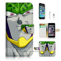 ( For iPhone 7 ) Wallet Case Cover P1653 Dragon Ball