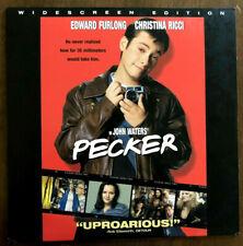 PECKER- Laserdisc Widescreen - Christina Ricci - John Waters  ULTRA RARE