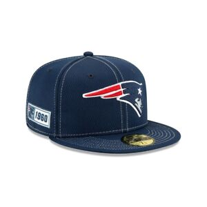 New Era 59Fifty Fitted Cap NFL New England Patriots 19 Sideline Doppellogo Sale