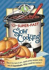 Gooseberry Patch Super-Fast Slow Cooking Hard Cookbook Recipe Book NEW