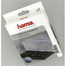 Hama transparente clavier de l'ordinateur couverture poussière résistant à l'eau et tear-proof
