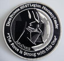 Star Wars - Dave Prowse - 501st Legion - Patch Aufnäher zum Aufbügeln - neu