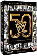 The WWE - History Of WWE - 50 Years of Sports Entertainment (DVD,2013, 3-Disc)R4