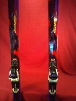 SALOMON EQUIPE 8100 8E2S SNOW SKIS 78.5 inches Marker Selective Control BINDINGS