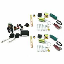 5 Function 11lbs Shaved Door/ Trunk latch Popper Kit w/ Remote Keyless Entry 350