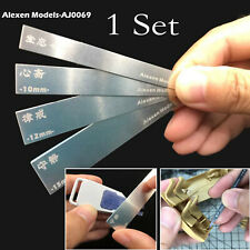 10 in 1 Stainless Steel Alexen Model Grinding Stick File Set Hobby Craft Tools