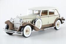 Tan And Beige 1930 Packard 1:18 Diecast Sedan By Signature