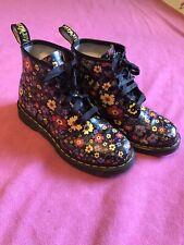 Dr Marten Flower Boots Size 7