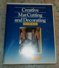 Creative Mat Cutting and Decorating Video, Larson Juhl Training, Brian Burnett