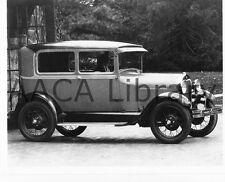 1929 Ford Model A Tudor w/ female driver, Factory Photo (Ref. # 41743)