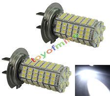 2X 120 LED 3528 SMD H7 Xenon conducción principal del coche Bombilla