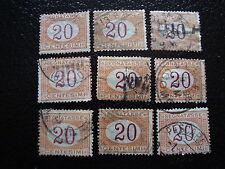 italia - sello yvert y tellier tasa nº7 x9 matasellados - stamp Italia (A1)