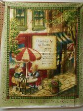 "1 David Textiles ""Friendship Bistro"" Panel Fabric"