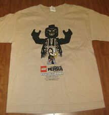 PRINCE OF PERSIA youth small T shirt Lego Disney tee Official Club Member 2010