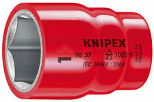 Knipex 98 47 24 S Range VDE Insulated 24mm Socket 1/2 Drive