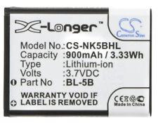 New Battery for Vivitar ViviCam 8027, 8225, T328, V8225 Bl-5B Bli-885 Cel10028