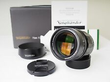 Voigtlander HELIAR Classic 75mm F1.8 VM, for Leica M mount, Close to New!