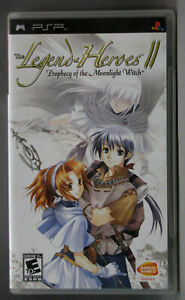 The Legend of Heroes II 2 Prophecy of the Moonlight Witch, PSP, Complete