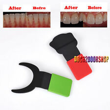 2PCs Silicone Dental Contraster Oral Black Background Board Photography