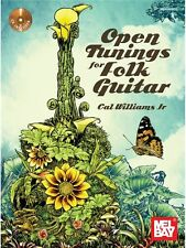 Open Tunings For Folk Guitar CD Set Learn to Play MUSIC BOOK & CD Guitar