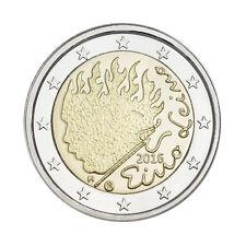 """Finland 2 Euro commemorative coin 2016 """"Eino Leino"""" - UNC"""
