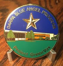 DARPA Blue Angel Program Project GreenVax Texas A&M, G-CON, BECK Challenge Coin