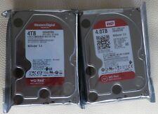 2x Western Digital WD Red NAS 4TB, RAID Intern 5400RPM WD40EFRX OEM