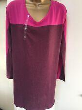 Victoria'S SECRETS BUM Camicia Taglia S Small Rosa/Borgogna
