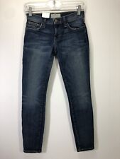 "Sz 23 Current/Elliott Stiletto Skinny Ankle Jeans Townie 7.5""Rise/27""inseam"