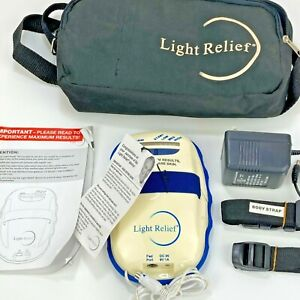 Light Relief Infrared Muscle Pain Joint Pain Relief Device W/ Carry Case LR150