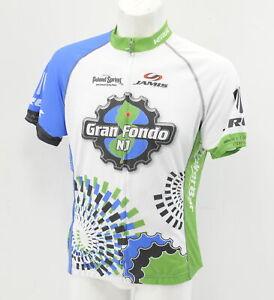Verge Women's NJ Gran Fondo Short Sleeve Jersey XS White/Black/Green New