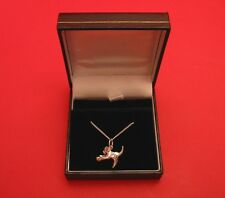 Sterling Silver Cat Ball Necklace Jewellery Vet Mother Christmas Gift BOXED NEW