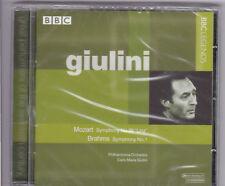 Giulini, Mozart, Brahms, Philharmonia Orchestra -Symphony No. 36&1- CD NEU, OVP