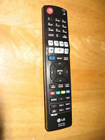 Used Original LG AKB73775820 Home Theater Remote Control