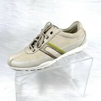 Cole Haan Nikeair Women's Fashion Sneaker Beige Suede Comfort Shoes Size 8 B
