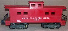 More details for american flyer lines s gauge american flyer lines caboose 24630 - free postage