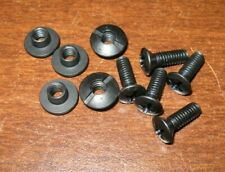 G-CODE RTI wheel hardware 5 screws and T-nuts black holster mount adapter