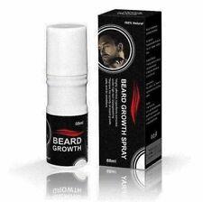 BEARD & HAIR GROWTH SPRAY *USA* Extra Strength 100% Natural Formula NEW SEALED