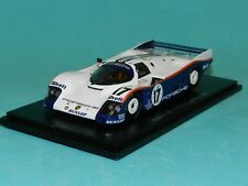 Spark 1 43 1987 Porsche 962c Le Mans 24 Hours Winner 43lm87 (decals Included)