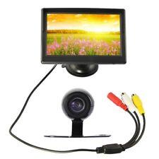 5 pulgadas TFT LED Monitor camara trasera Camara reserva estacionamiento conV9T6