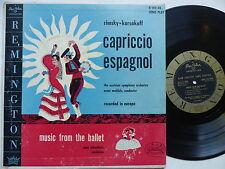 Capriccio espagnol ERNST MEHLICH Music from the ballet MAX SCHONHERR Remington