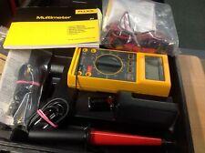 Fluke 27 FM Multimeter w/Probes HV 80K-6 & 85 RF Meter Leads Case - New Other