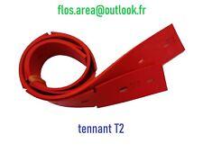 """jeu de lamelles/bavettes """"linatex"""" pour autolaveuse """"tennant"""" T2 (430mm/17"""")"""
